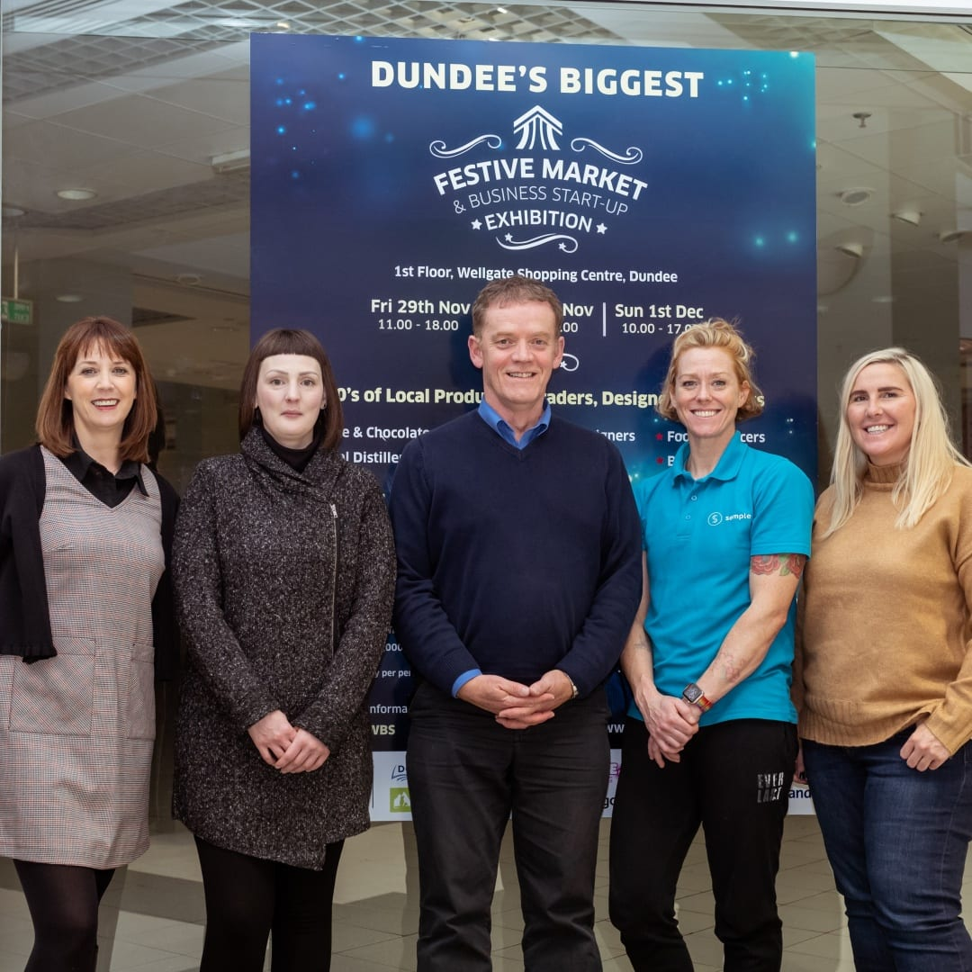 Dundee's Biggest Festive Market Is Coming To Wellgate!